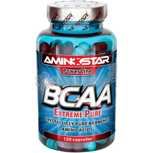 Aminostar BCAA Extreme Pure - crystallicly pure 120cps