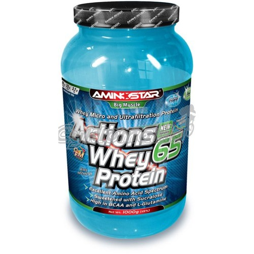Aminostar ACTIONS Whey Protein 65 - 1000g