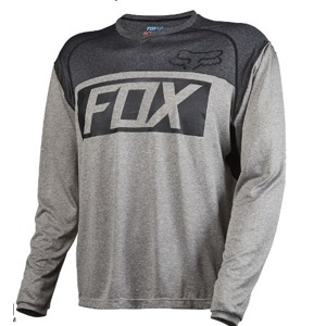 Dres Fox Indicator L/S Jersey Heather Graphite
