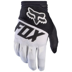 Rukavice Fox Dirtpaw Race Glove Black White