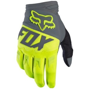 Rukavice Fox Dirtpaw Race Glove Fluo Yellow