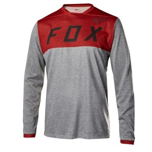 Dres Fox Indicator L/S Jersey Heather Red