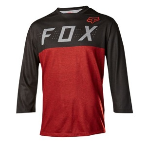 Dres Fox Indicator 3/4 Jersey Heather Red