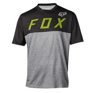 Dres Fox Indicator S/S Camo Jersey Heather Grey