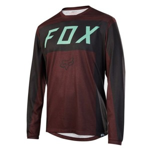 Dres Fox Indicator L/S Jersey Burgundy