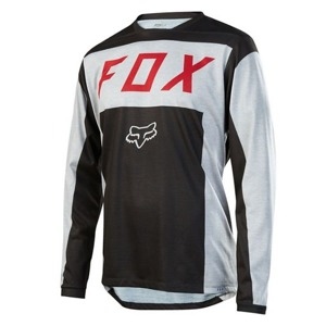 Dres Fox Indicator L/S Jersey Light Grey