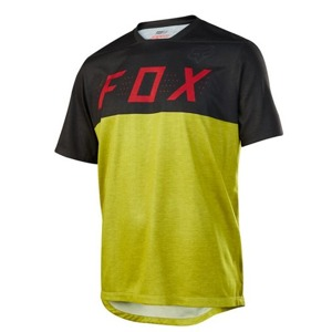 Dres Fox Indicator S/S Jersey Black Yellow