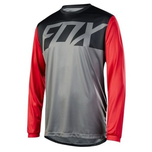 Dres Fox Ranger L/S Jersey Graphite Red