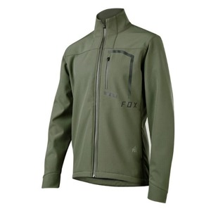Pánská bunda Fox Attack Fire Softshell Jacket Dark Fatigue