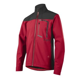 Pánská bunda Fox Attack Fire Softshell Jacket Dark Red