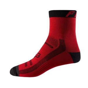 "Ponožky Fox Racing Trail 6"" Bright Red"