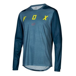Dres Fox Indicator L/S Jersey Mash Camo Blue Steel