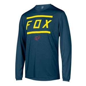 Dres Fox Ranger L/S Jersey Bars Midnight