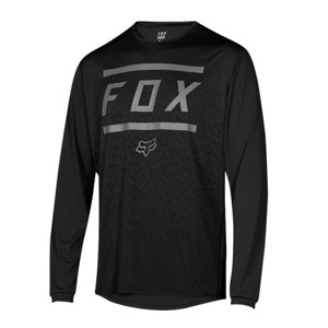 Dres Fox Ranger L/S Jersey Bars Black