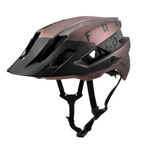 MTB přilba Fox Flux Solid Black/Iri