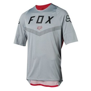 Dres Fox Defend S/S Fine Line Jersey Steel Grey