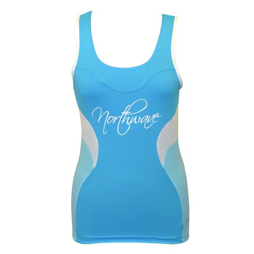 Tílko Northwave VENUS lady turquoise/light blue