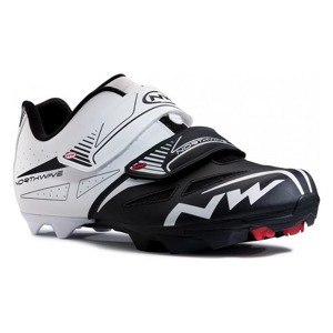 MTB tretry Northwave SPIKE EVO white-black