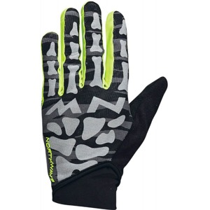 Rukavice Northwave Skeleton Original Full black/yellow fluo