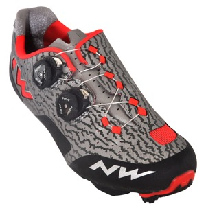 MTB tretry Northwave REBEL grey-red