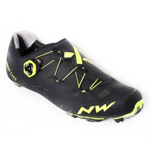 MTB tretry Northwave GHOST XC black-yellow fluo