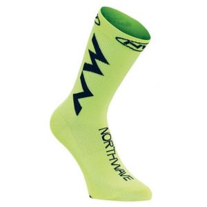 Ponožky Northwave Extreme Air Socks Yellow Fluo/Black