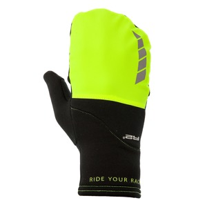 Rukavice R2 Cover black/neon yellow