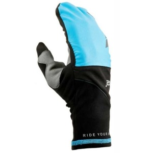 Rukavice R2 Cover black/blue