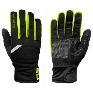 Rukavice R2 Storm black/neon yellow