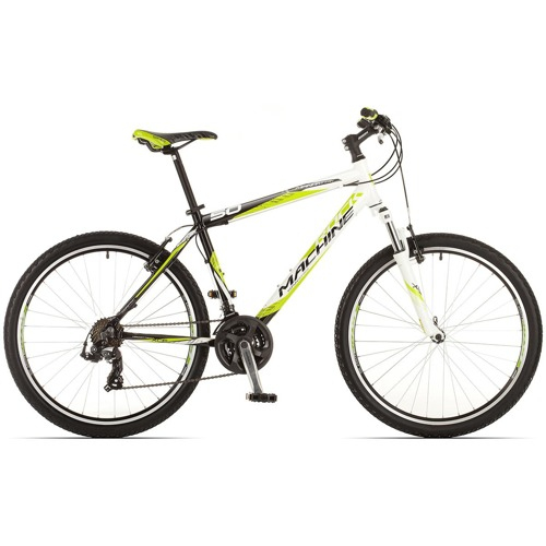 Horské kolo Rock Machine Manhattan 50 black/lime