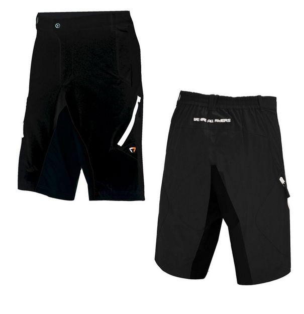 Volné kraťasy Briko MTB Pant black z kategorie Cyklo oblečení 73e349a12f