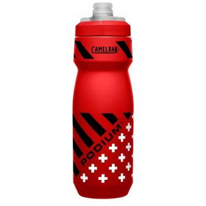 Láhev CamelBak Podium 0,71 l red/check stripes