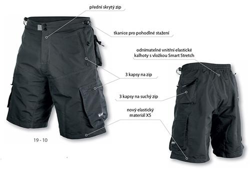 090d34471a7 Volné kalhoty Etape Freeride černá z kategorie Cyklo oblečení · Freeride  19-10