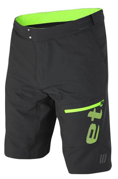 Volné kalhoty Etape Freeride černá zelená z kategorie Cyklo oblečení 59a060385f