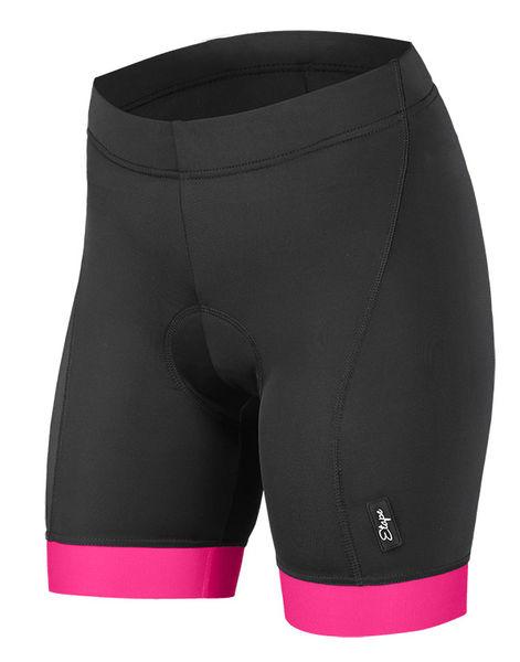 c0d9c0368af Dámské kraťasy Etape Natty černá růžová z kategorie Cyklo oblečení