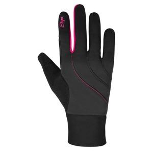e8cd7c35775 Dámské rukavice Etape Amber WS+ černá růžová