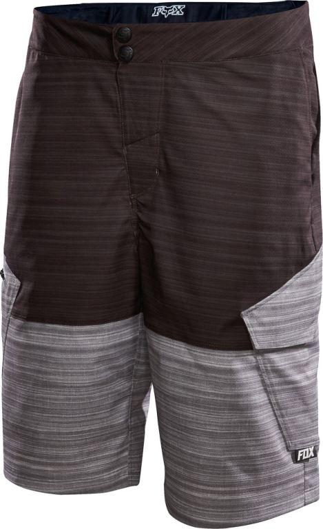 82072e689a0 Volné kraťasy Fox Ranger Cargo Print Shorts Black z kategorie Cyklo oblečení