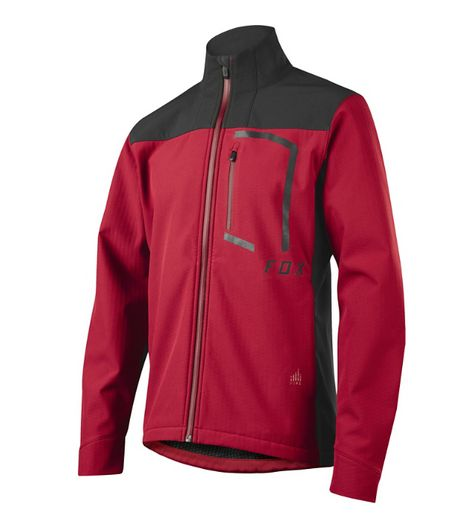 Pánská bunda Fox Attack Fire Softshell Jacket Dark Red f18701c6df4