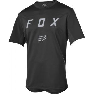 Dres Fox Flexair S/S Moth Jersey Black