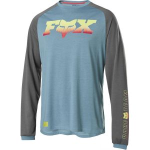 Dres Fox Ranger Drirelease Foxhead L/S Jersey Light Blue