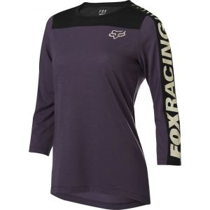 Dámský dres Fox Ranger Drirelease 3/4 Jersey Dark Purple