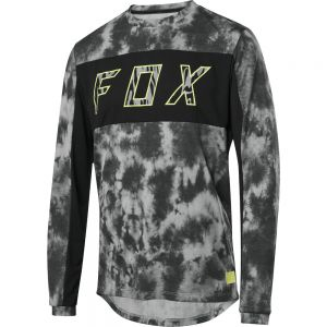Dres Fox Ranger Drirelease Elevated L/S Jersey Black
