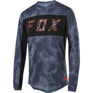 Dres Fox Ranger Drirelease Elevated L/S Jersey Blue Steel