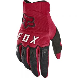 Rukavice Fox Dirtpaw Glove Flame Red