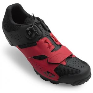 MTB tretry Giro Cylinder Dark Red/Black
