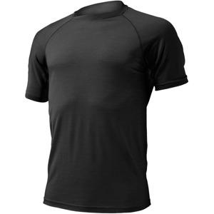 6ce65d40571 ... Pánské vlněné tričko Lasting Merino QUIDO černé