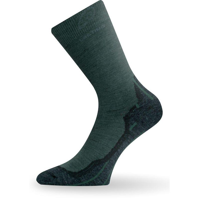 Merino ponožky Lasting WHI tmavě zelená z kategorie Termoprádlo c543245e8d