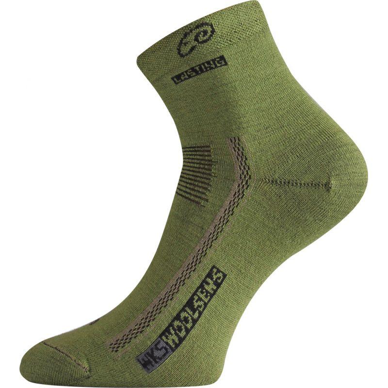 Merino ponožky Lasting WKS zelená z kategorie Termoprádlo 58f16c4def