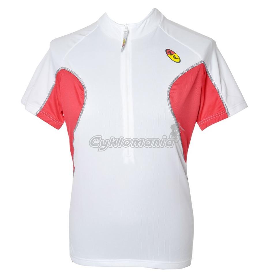 vyprodej. Dres Northwave Core white-red z kategorie Cyklo oblečení 8aae8db45a