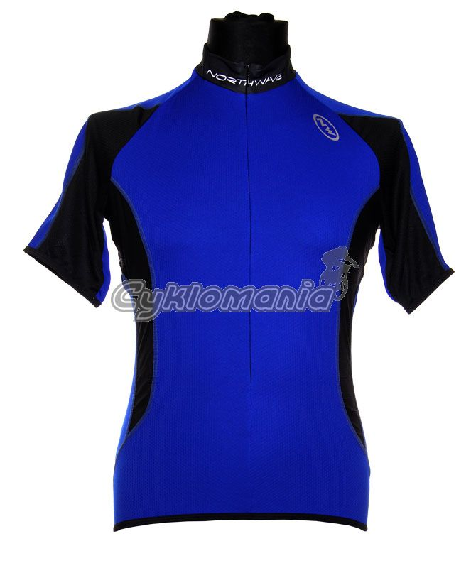 vyprodej. Dres Northwave Stream blue black 08 z kategorie Cyklo oblečení 1eedbd4ef1